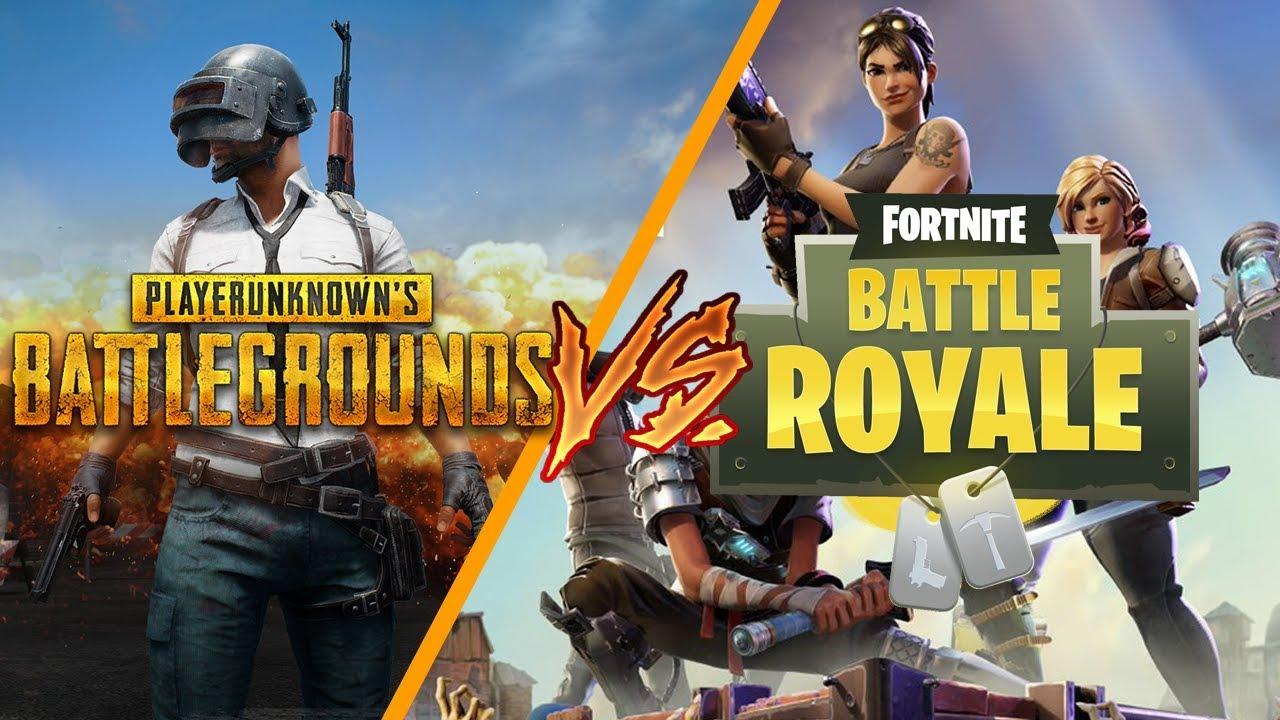 PUBG vs Fortnite ultimate Comparison