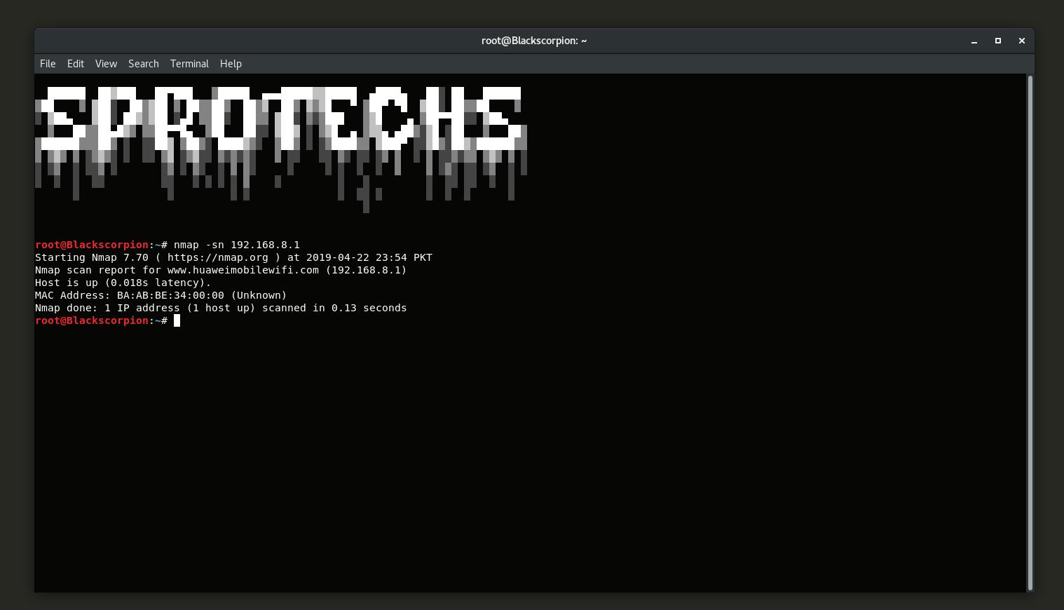 Host Detection Using Nmap