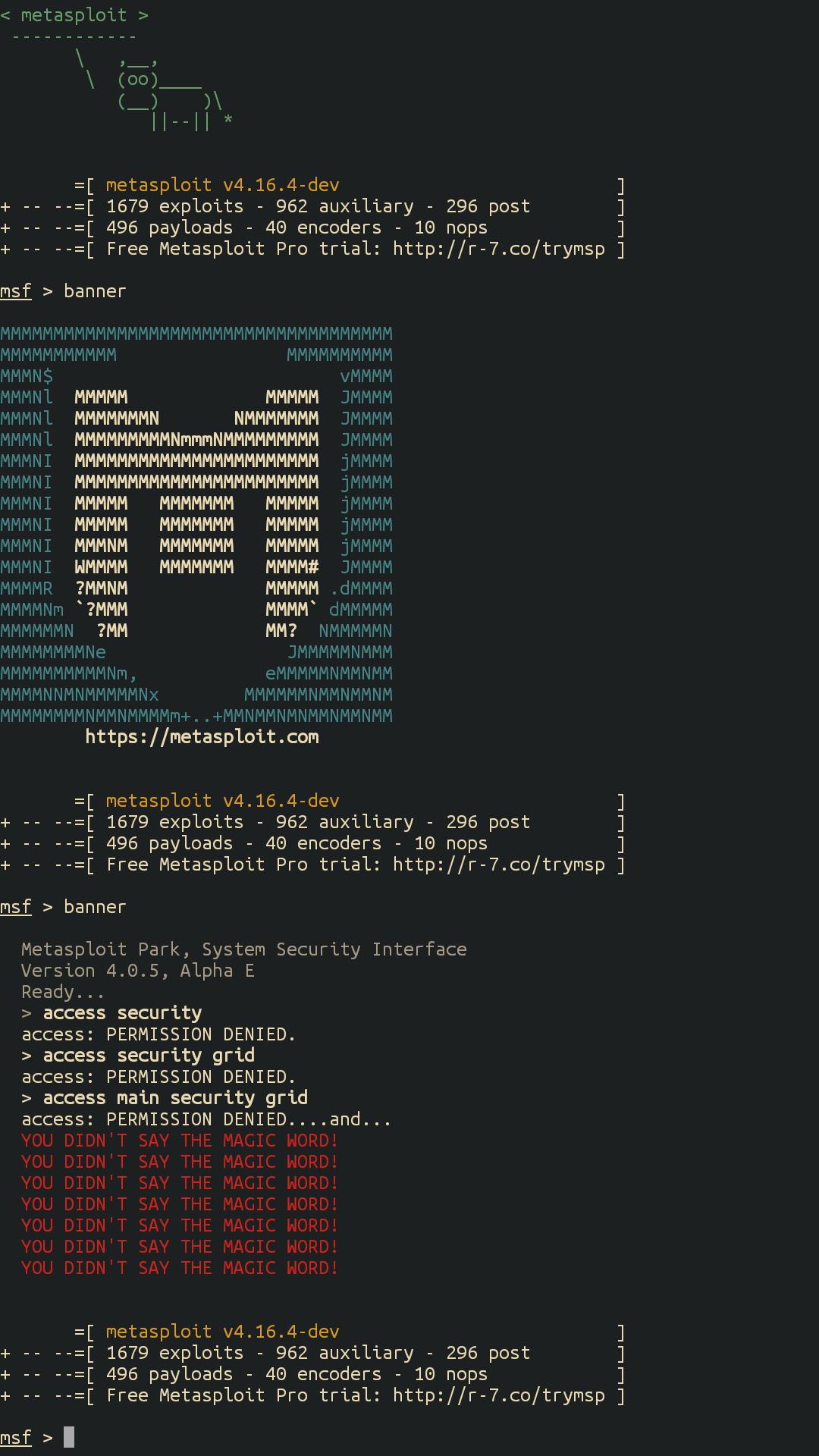 install Metasploit in termux